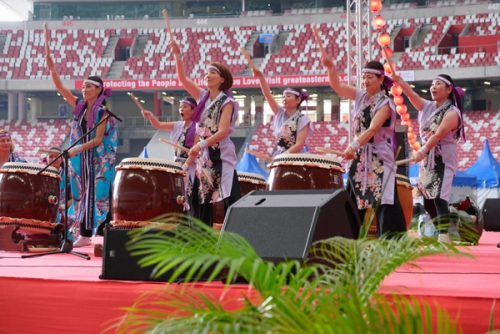 和太鼓同好会(Japanese Drum Group)
