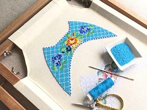 プラナカンビーズ刺繍